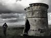 """The man was here"" (_Blaster_) Tags: sky italy tower grass clouds friend italia nuvole torre fuji ground erba f30 cielo finepix terra salento puglia blaster fujif30 fragagnano monteparano carosino jjjohn"