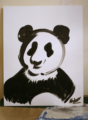 The third panda from the Panda project
