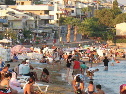 Didim, Kusadasi, Aydın, Turkey, Beach by maviskas.