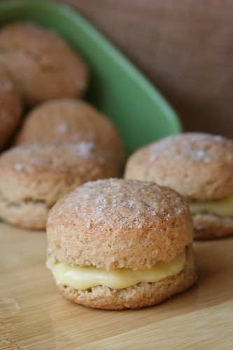 lemon curd scone