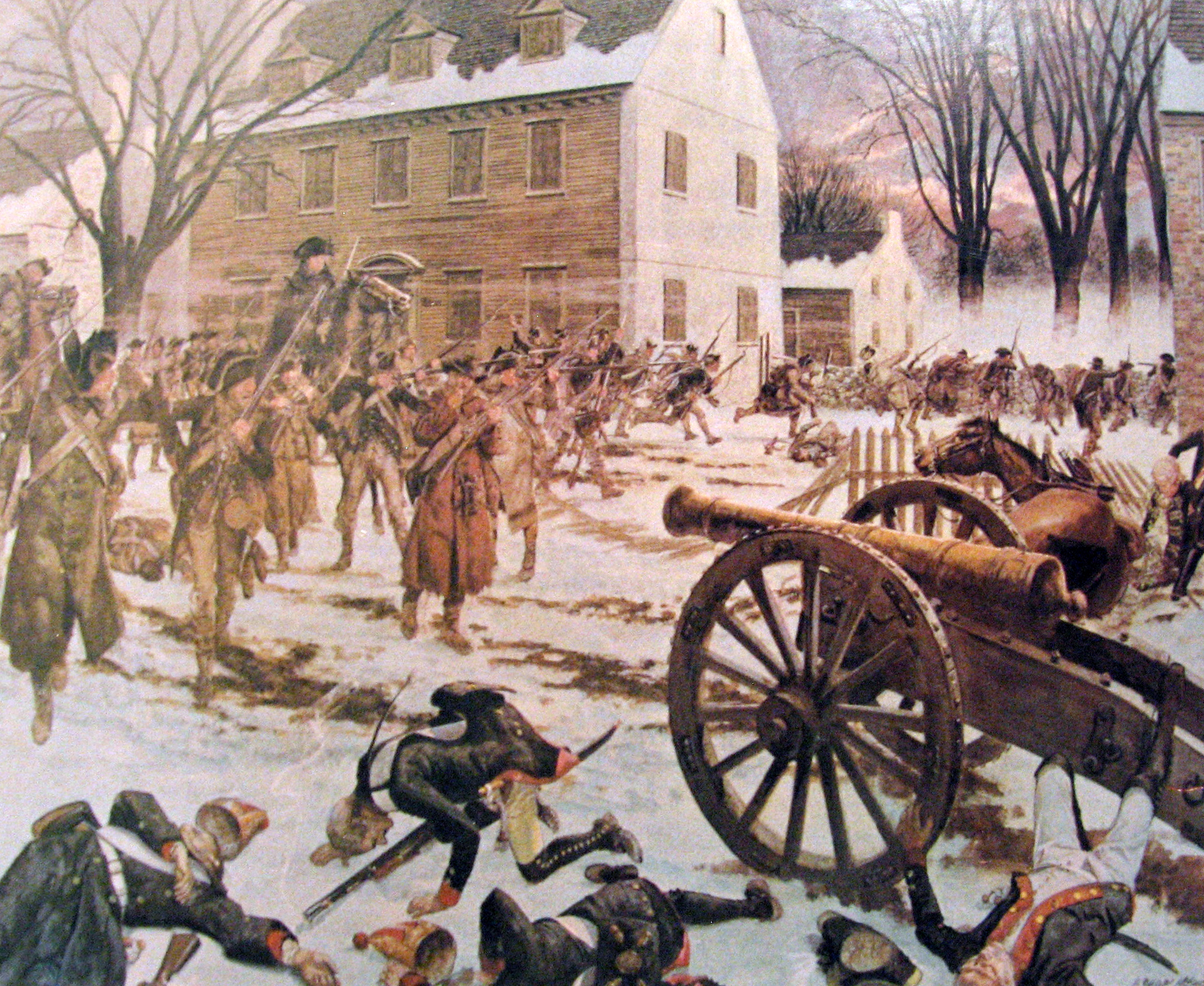 an introduction to the history of the battle of trenton in 1776 Us history & slavery: 1772-1776 -introduction- by 1772, the institution of slavery had been present in the americas for over 250 years the first sl august 27, 1776 battle of long island december 26, 1776 battle of trenton 1776 youtube [ link] unmodified map bases sources [link] and [link] unmodified.