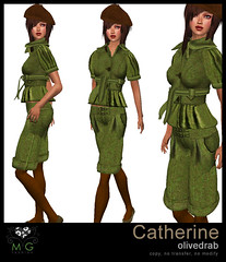 [MG fashion] Catherine (olivedrab)