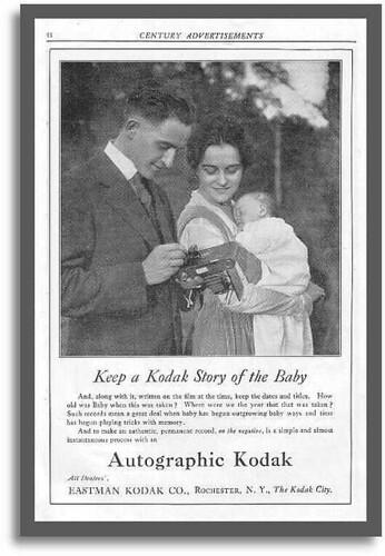 Kodak Autographic ad