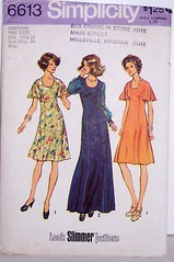 Vintage Simplicity Pattern 6613 Womens Size 10 & 12 Princess Seaming A-line Dress with Flutter Sleeves (Sassy By Design) Tags: she vintage flickr pattern sewing international cast etsy size12 size10 alinedress fluttersleeves bust32 bust34 sassybydesign princessseaming simplicity6613
