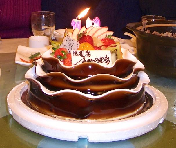 18周岁生日蛋糕