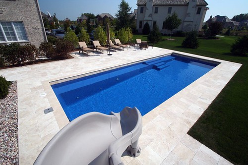 Inground pool comparisons fiberglass vinyl and concrete Fibreglass pools vs concrete pools