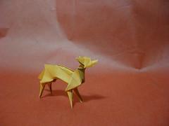Fox (Slave of Sleep) Tags: origami fox paperfolding