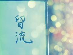 I Love You In Japanese  (Crazy Princess) Tags: blue love colors japan japanese you bokeh name kanji  in i crazyprincess