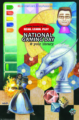 2009 National Gaming Day poster