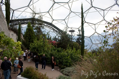 Cornwall uk eden project