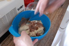 Step 7: Swirl Two Ice Cream Flavors Before Freezing