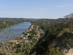Lake Austin today (Bryan - oz4caster) Tags: lakeaustin loop360bridge absolutelystunningscapes lookingnorthwestfrommtbonnell