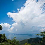Lake Tagaytay, Luzon, Philippines.