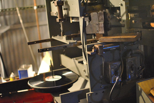 vinyl pressing live!