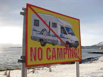 Don't Even Think of Camping