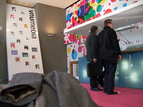 Entree VNU Media, Haarlem