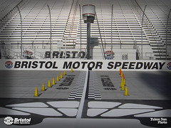 George Painted This! (Bristol Motor Speedway & Dragway) Tags: bristol bristoltennessee startfinishline georgewilson