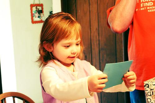 Dora card from mama