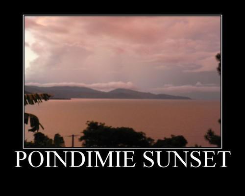 Poindimie Sunset