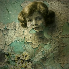 Mixed Media/Altered Art - Reworked Vintage Image (collage a day) Tags: art collage mixedmedia digitalart montage alteredart vintagephoto alteredphoto