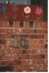number 15 (rosanne maccormick-keen) Tags: toronto bricks 15 flowerbox paintedflowers