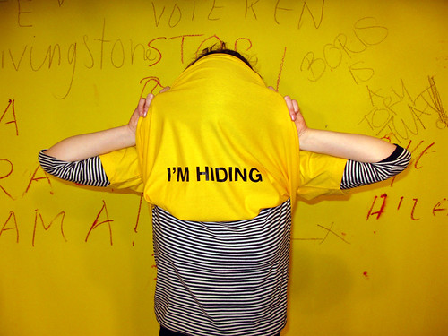 I'm Hiding Ts - available in all sizes!!!