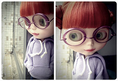 Candy (Sabrina Eras) Tags: glasses bigeyes candy blythe modmolly