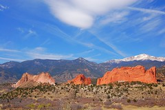 Maybe the Perfect Morning (Nttnylion) Tags: mountains nature landscape colorado gardenofthegods coloradosprings blueskies rockformations naturesfinest perfectmorning mywinners anawesomeshot