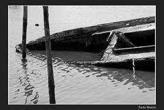 quante volte mi hai portato (paolo.benetti) Tags: bw nikon barca italia valle ferrara comacchio d80 batana