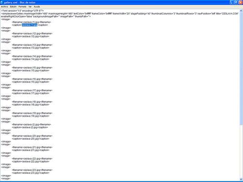 Creación de Galerías Web V | Simpleviewer y Lightbox JS desde Photoshop ceslava 8
