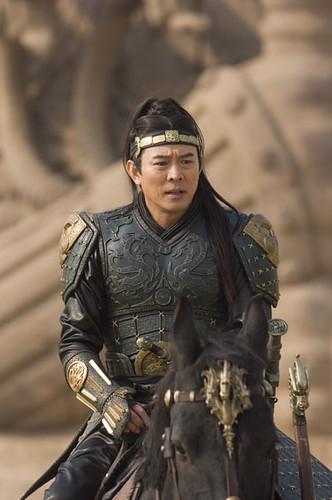 Jet Li as Emperor Qin Shi Huang
