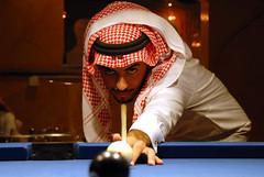 نظراتك (aZ-Saudi) Tags: pool ball player arabic saudi arabia billiards ksa alhasa لاعب السعودية سعودي عيون تحدي خليجي شماغ السعوديه كورة arabin بلياردو اصرار ِarabs