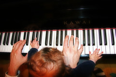 2+2 Hands (Marius!!) Tags: playing children four hand piano sound carletto ranocchio