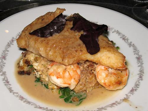 """Seafood  """"Napoleon"""""""