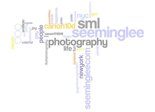 Wordle: SML Flickr Tags / 2008-06-23 / SML Screenshots (by See-ming Lee 李思明 SML)