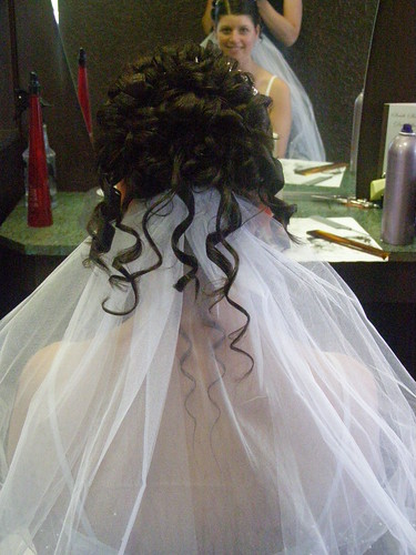 Cool wedding hair
