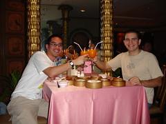 Unas copas en Bangkok