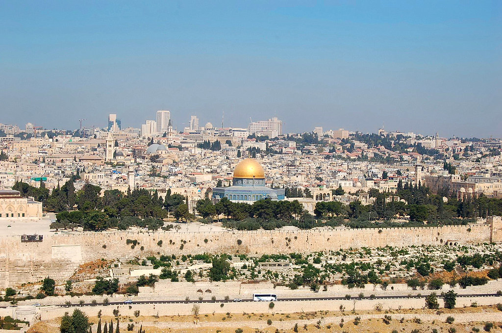 View from Mt. Olives, יְרוּשָׁלַיִם  Jerusalem 耶路撒冷