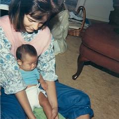 Jenn & Baby Gina