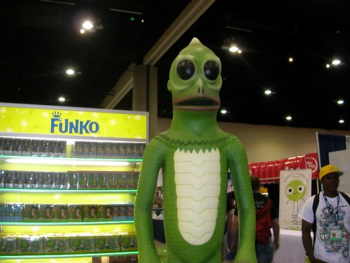 Giant Sleestak!