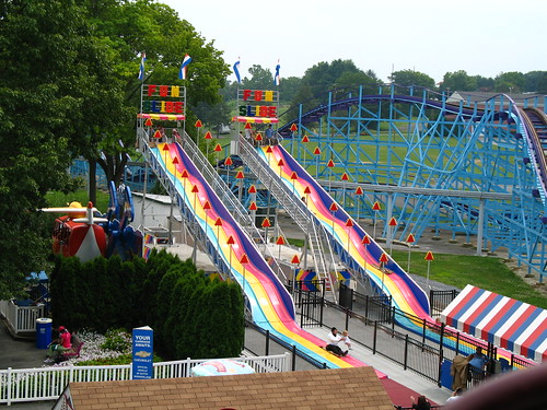 Fun Slide at Dutch Wonderland