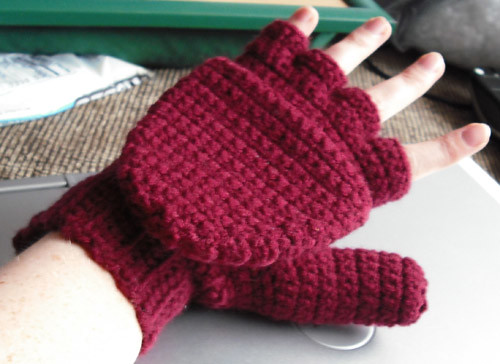 Free Crochet Pattern Womens Mittens : I even went so far as to narrow it down to Sue Norrad s ...