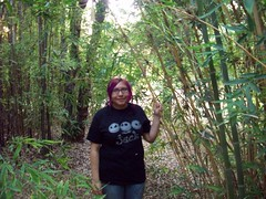 Angie in the jungle. (legogrrl4) Tags: plants state arboretum cal fullerton