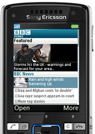BBC Mobile TV