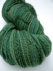 Grass is Aways Greener handspun