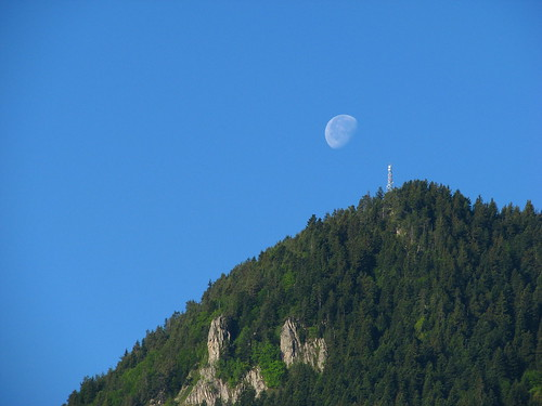 Утринна луна / Moon at dawn