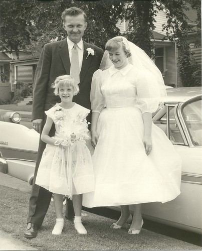 Mom and Dad's Wedding 1957 - 3