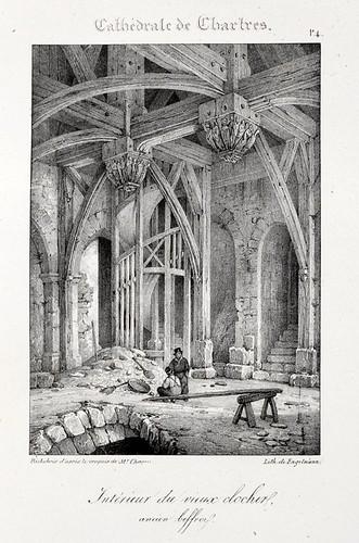 Chartres04- Interior del viejo campanario