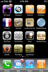 iPhone blog icons