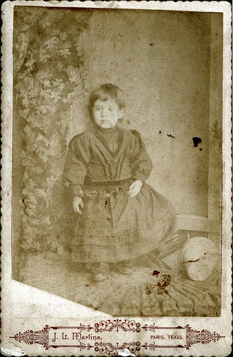 Boy in dress